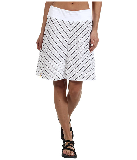 Fuste Lole - Sunny Pull-On Skirt - White Stripe