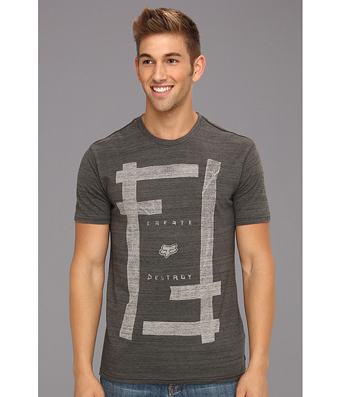 Tricouri Fox - Slow Ace S/S Premium Tee - Charcoal