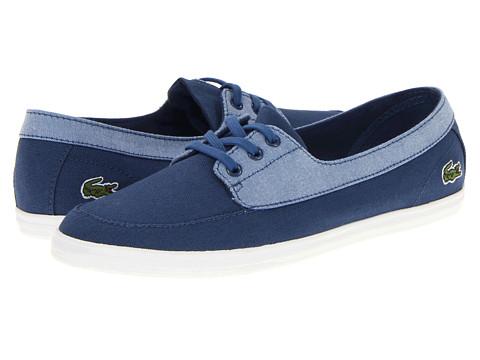 Adidasi Lacoste - Ziane Boat CAM - Blue/Blue