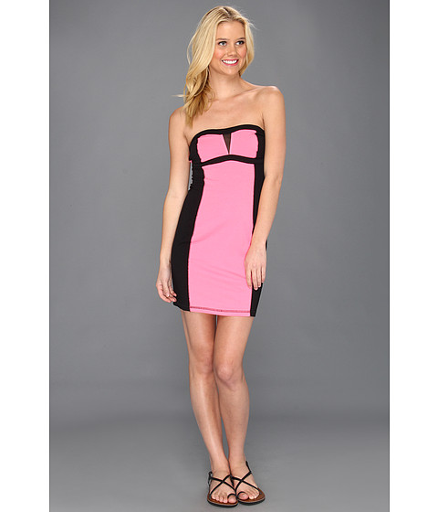 Rochii Fox - Track Star Tube Dress - Day Glow Pink