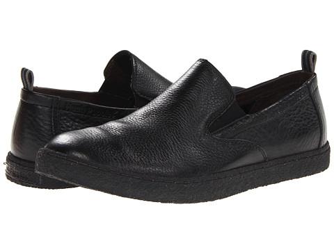 Pantofi Hush Puppies - Lockout Slip On PL - Black Leather