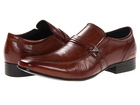 Pantofi Kenneth Cole Reaction - Extra Vert - Cognac Leather