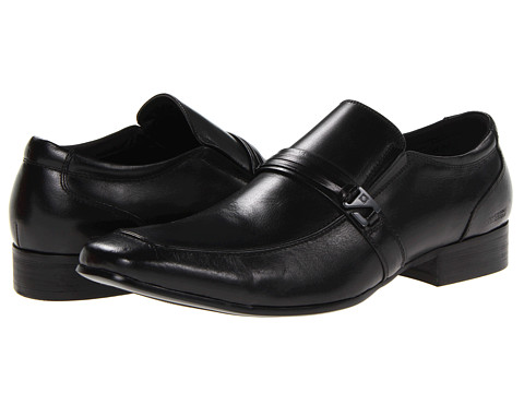 Pantofi Kenneth Cole Reaction - Extra Vert - Black Leather