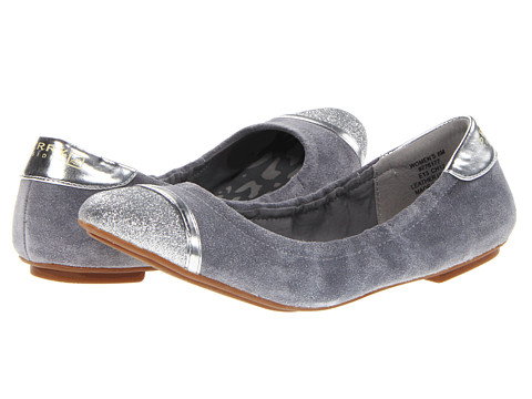 Balerini Sperry Top-Sider - Lily - Charcoal Suede/Silver Glitter