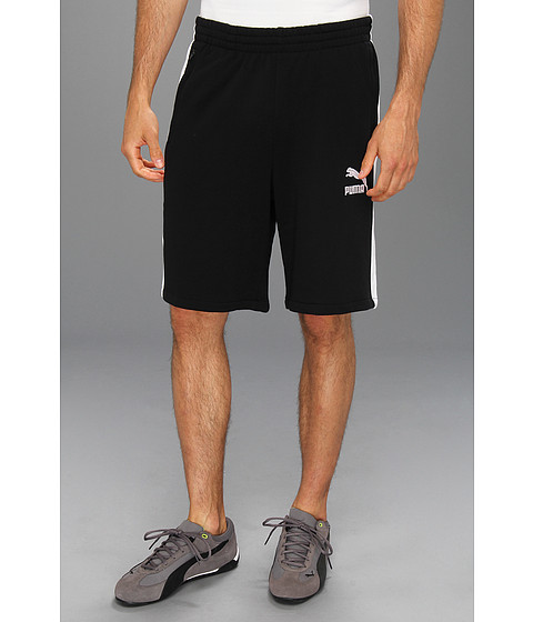 Pantaloni PUMA - Sweat T7 Short - Black/White