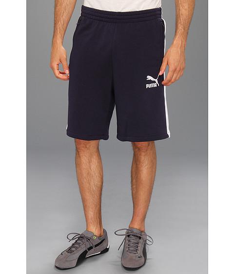 Pantaloni PUMA - Sweat T7 Short - New Navy/White