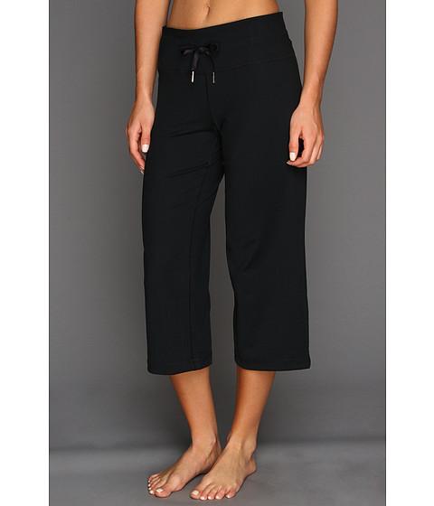 Pantaloni Under Armour - UA Perfect Flow Capri - Black/Black/Metallic Pewter