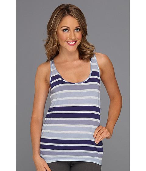 Tricouri Calvin Klein - Skinny Sunbleached Stripe Tank Top - Calvary Blue
