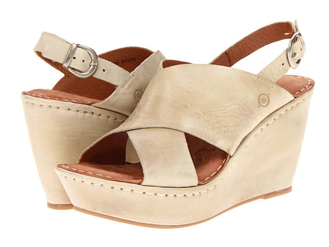 Sandale Born - Emmy - Nude (Natural) Full Grain Leather