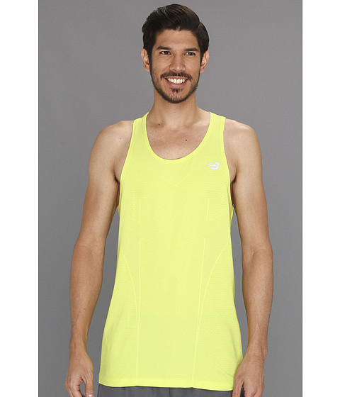 Tricouri New Balance - NBx Minimus Singlet - Lime Punch