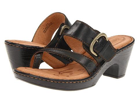 Sandale Born - Rutina - Black Full Grain Leather