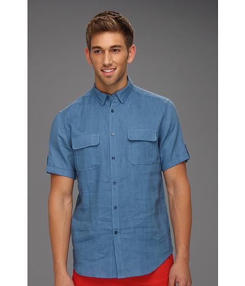 Tricouri Elie Tahari - Hayden Shirt J31E0503 - Blue Opal