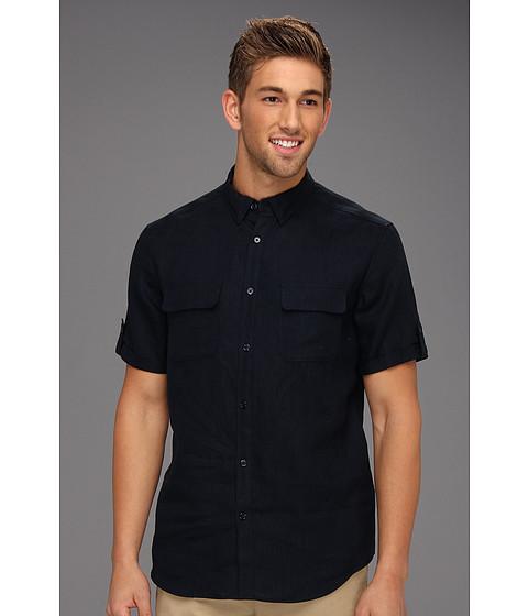 Tricouri Elie Tahari - Hayden Shirt J31E0503 - Deep Blue