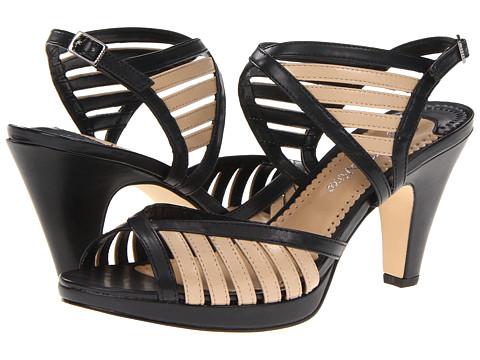 Pantofi Bella-Vita - Charleston II - Black/Nude