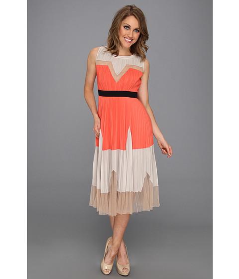 Rochii BCBGMAXAZRIA - Lucea Colorblock Dress - Ambrosia Combo