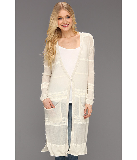 Bluze Free People - High Tide Cardigan - Oatmeal