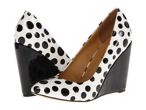 Pantofi 2 Lips Too - Too Dottie - White