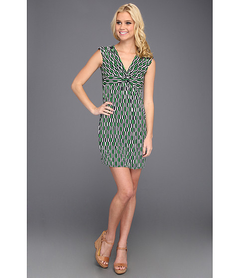 Rochii Laundry by Shelli Segal - Front Twist Jersey Dress - Mod Green