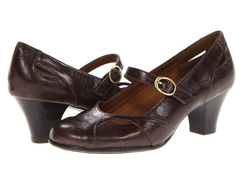 Pantofi Aerosoles - A2 by Aerosoles Marimba - Dark Brown Combo