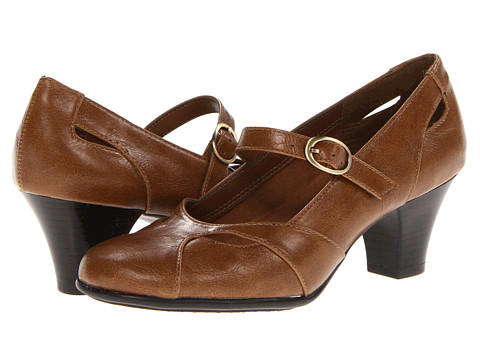 Pantofi Aerosoles - A2 by Aerosoles Marimba - Dark Tan Combo