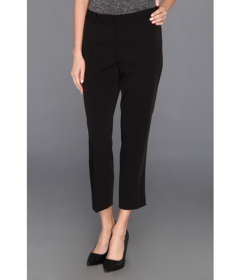 Pantaloni Anne Klein New York - Tech Stretch Slim Leg Pant - Black