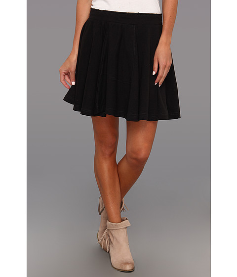 Fuste Free People - Skater Baby Skirt - Black