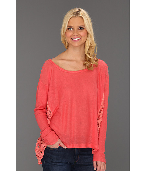 Bluze Free People - Love Me Do Pullover - Strawberry