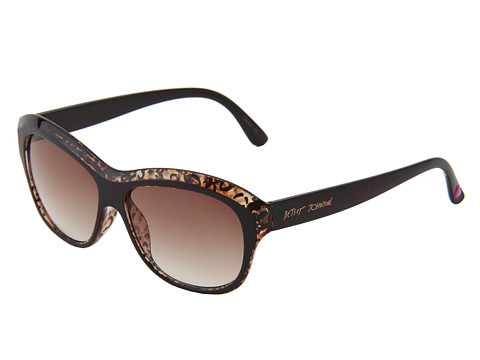 Ochelari Betsey Johnson - Mod Sq W/ Trans Brow - Brown