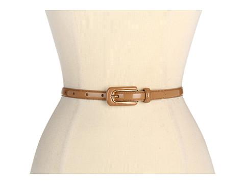 Curele LAUREN Ralph Lauren - Skinny Patent With Patent Inlay Buckle - Mocha