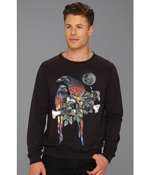 Bluze Diesel - Parrot Print Sweatshirt - Black
