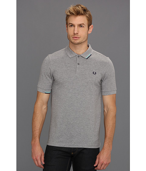 Tricouri Fred Perry - Start Stop Tipping Polo - Steel Marl