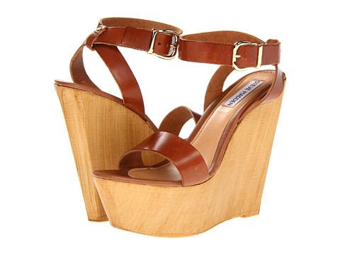 Pantofi Steve Madden - Beachy - Cognac Leather