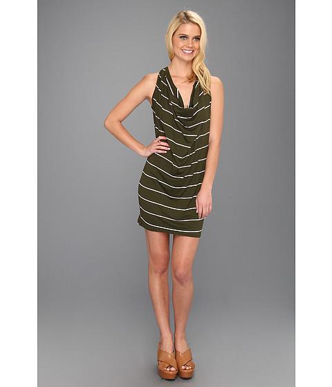 Rochii Michael Stars - Anoinette Island Stripe Halter Mini Dress - Vintage