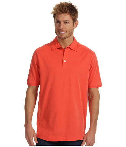 Tricouri Tommy Bahama - Palm Cove Spectator Polo - Sunlit Coral
