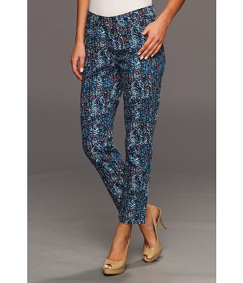 Blugi Levis - Mid Rise Ankle Skinny - Treading Water Print (Summer)