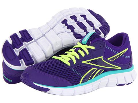 Adidasi Reebok - SmoothFlex Ride 3.0EX - Ultra Violet/Neon Yellow/Emerald Sea/White