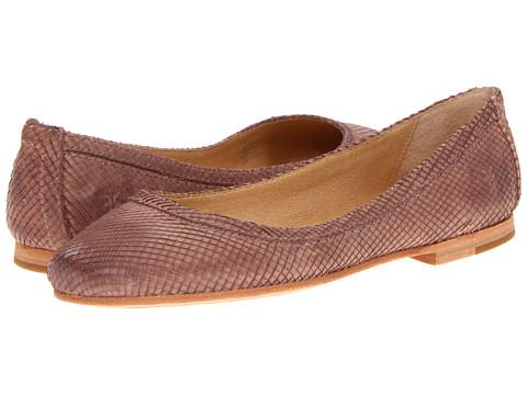 Balerini Frye - Carson Ballet - Light Brown Textured Nubuck