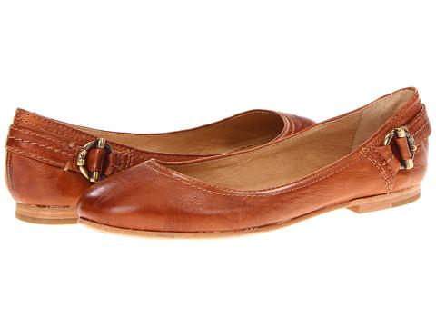Balerini Frye - Carson Toggle Ballet - Whiskey Soft Vintage Leather
