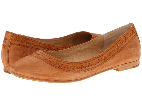 Balerini Frye - Esther Ballet - Natural Sunwash Nubuck