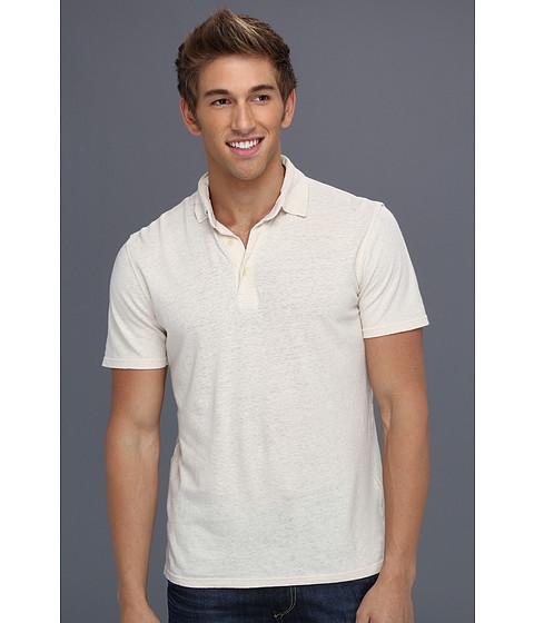 Tricouri Lucky Brand - Linen Polo - Stone White