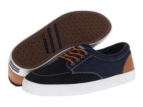 Adidasi Dekline - Mason - Navy/Latte Suede/Denim Leather