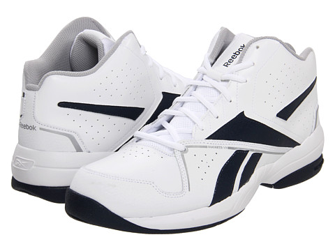 Adidasi Reebok - Buckets VII - White/Athletic Navy/Pure Silver