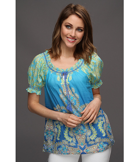 Bluze Tommy Bahama - Water Paisley Top - Bold Blue