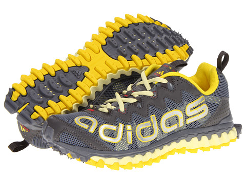 Adidasi Adidas Running - Vigor 3 TR W - Tech Grey/Vivid Yellow/Haze Yellow