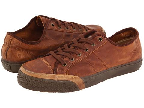 Adidasi Frye - Greene Low Lace - Brown Full Grain Leather