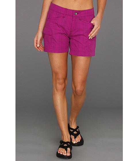 Pantaloni Marmot - Ani Plaid Short - Plum Rose