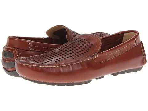 Pantofi Florsheim - Roadster Perf - Cognac Smooth Leather