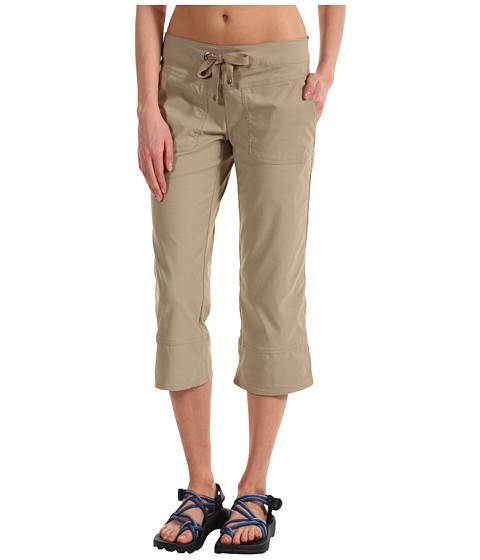 Pantaloni Prana - Bliss Capri - Khaki