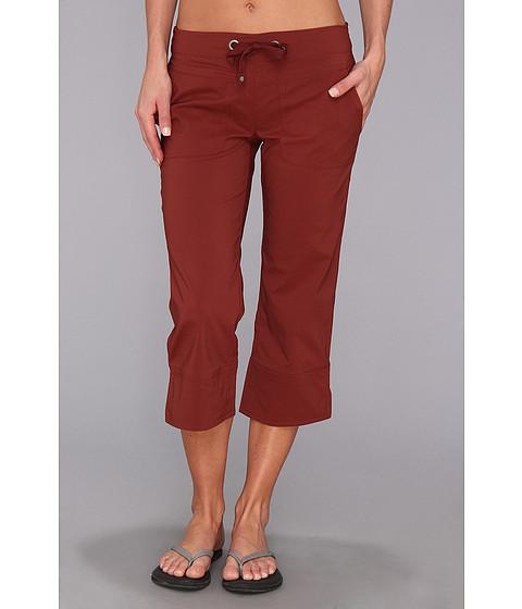 Pantaloni Prana - Bliss Capri - Raisin