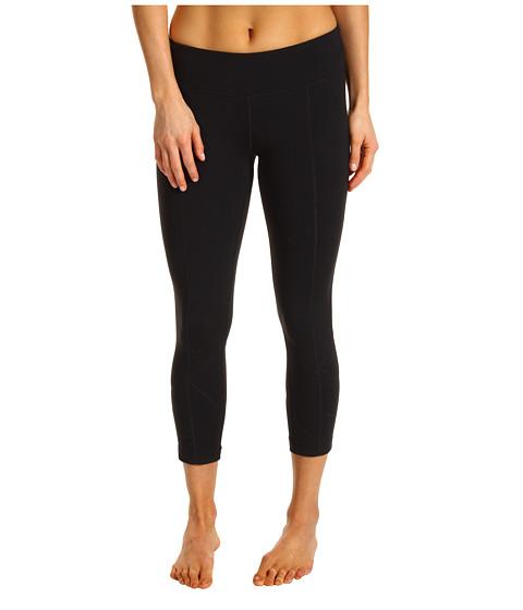 Pantaloni Prana - Prism Capri Legging - Black